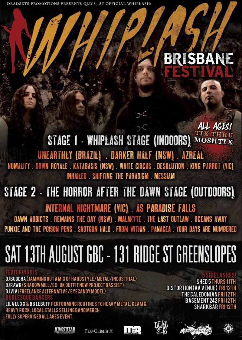 Whiplash Brisbane Festival 2011