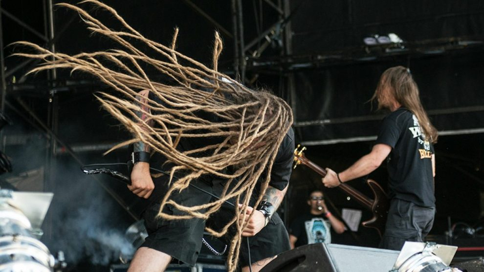 Decapitated fine points its sixth album, 'Blood Mantra'