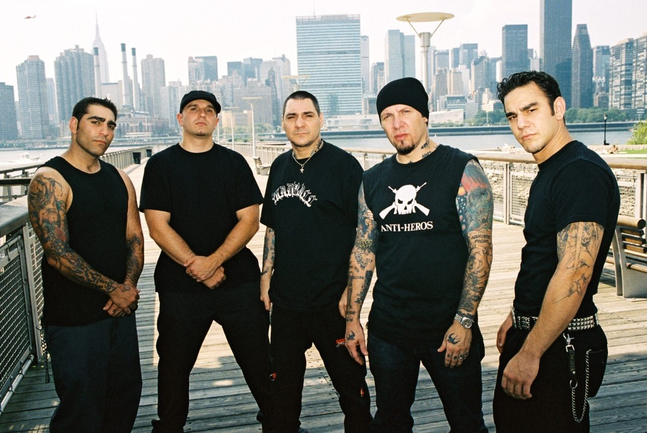 Agnostic Front asserts that 'The American Dream Died'