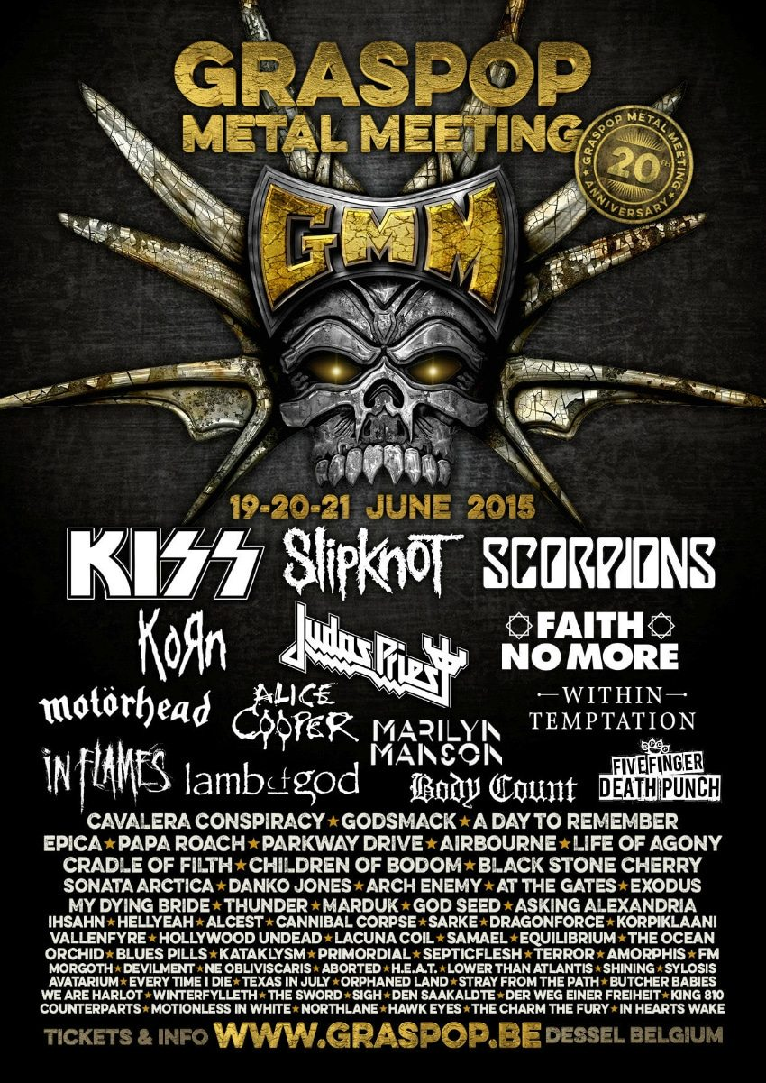 Graspop Metal Meeting Festival 2015