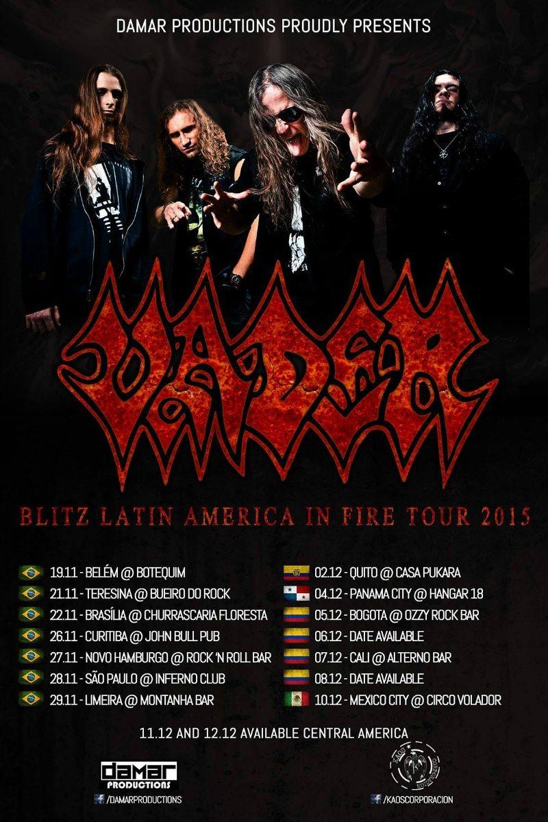 Blitz Latin America In Fire Tour 2015