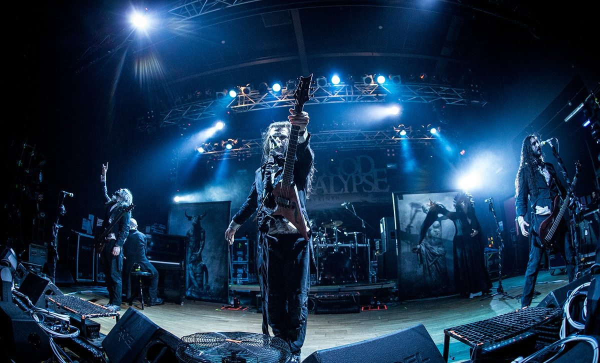 Fleshgod Apocalypse live at 70000 Tons of Metal 2016