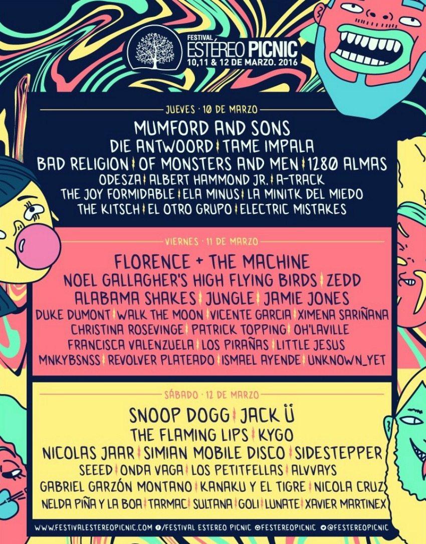 Festival Estéreo Picnic 2016