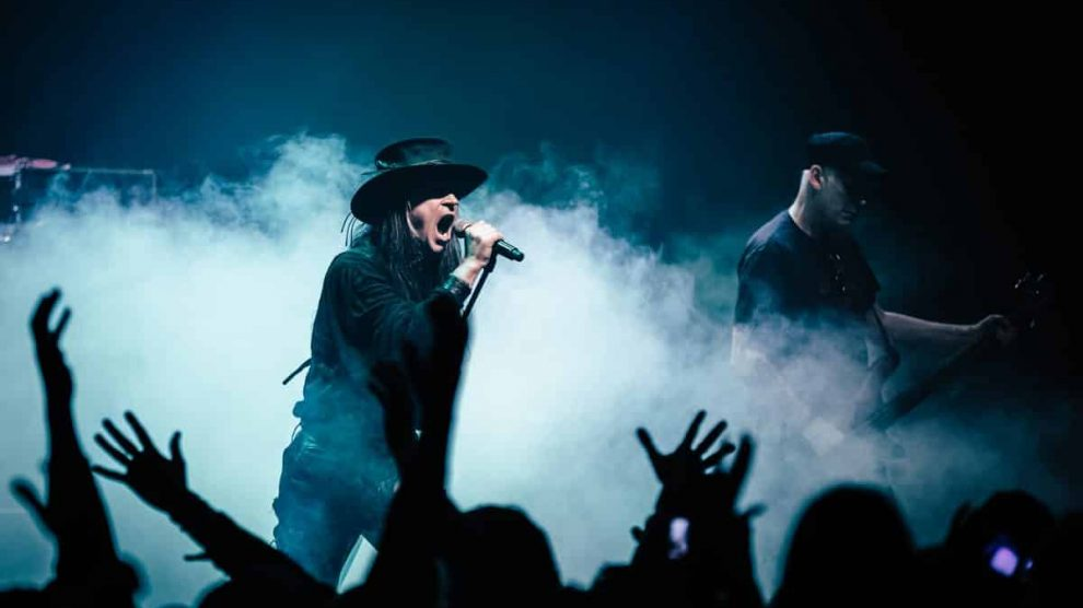 Interview with Carl McCoy from Fields Of The Nephilim