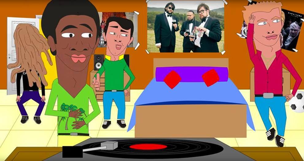 4 Extraños en D.C. will make you party hard