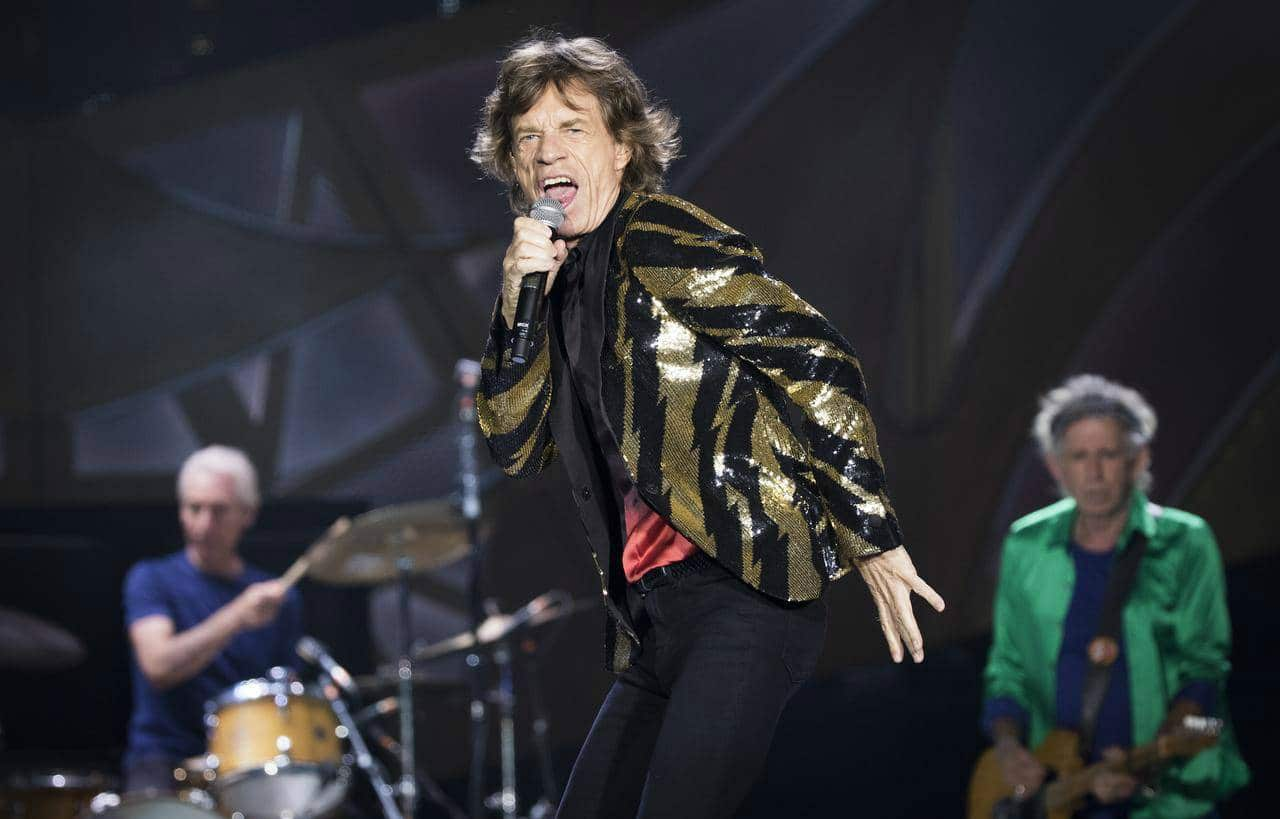 The Rolling Stones rocked at Estadio El Campin, Colombia