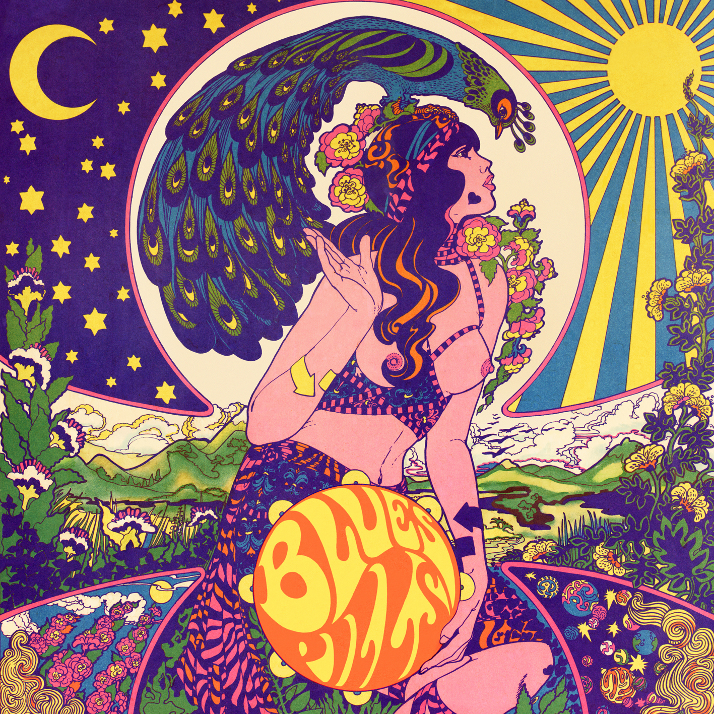 Blue Pills - Lady In Gold