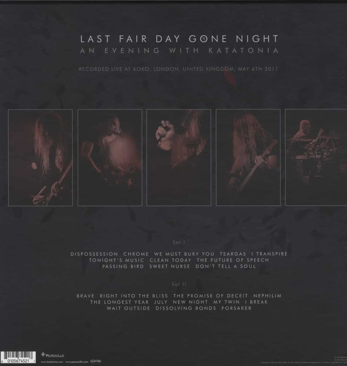 Last Fair Day Gone Night – An Evening With Katatonia