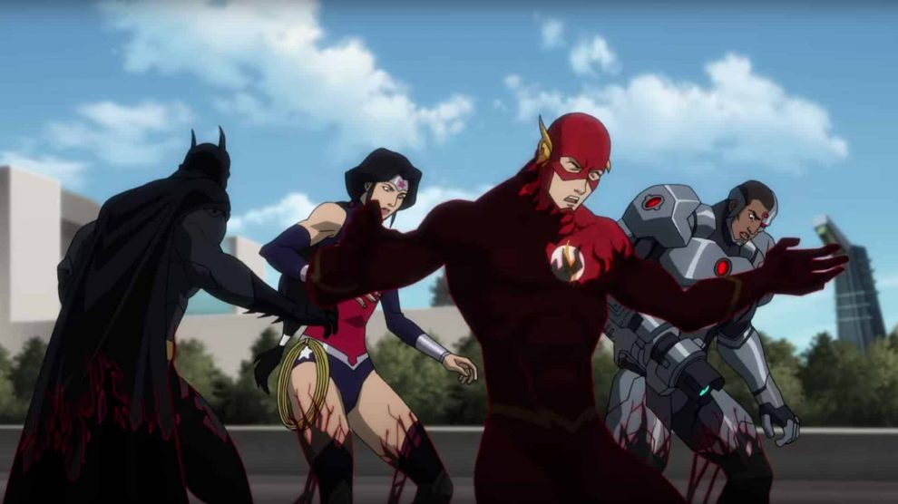 Justice League vs. Teen Titans  This is Raven's song