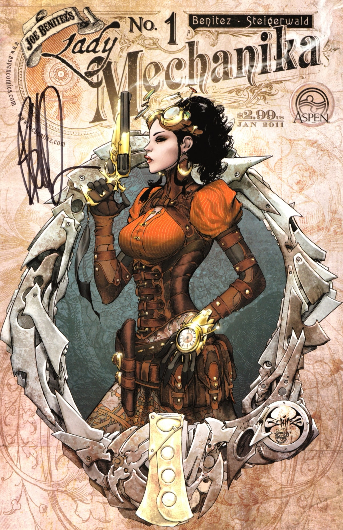 Lady Mechanika - The Tablet of Destinies #1