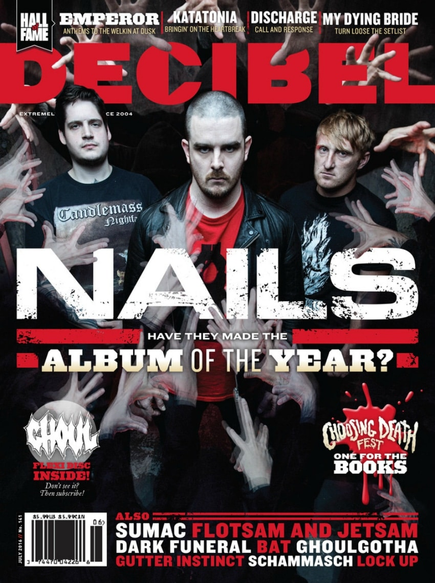 Decibel Magazine July 2016