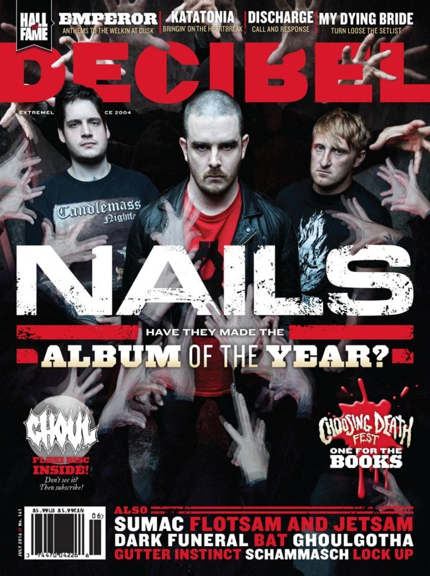 Decibel Magazine July 2016