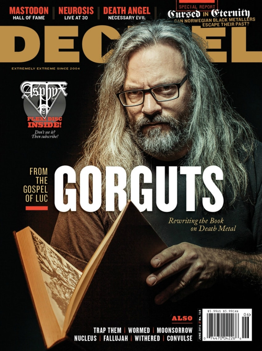 Decibel Magazine June 2016