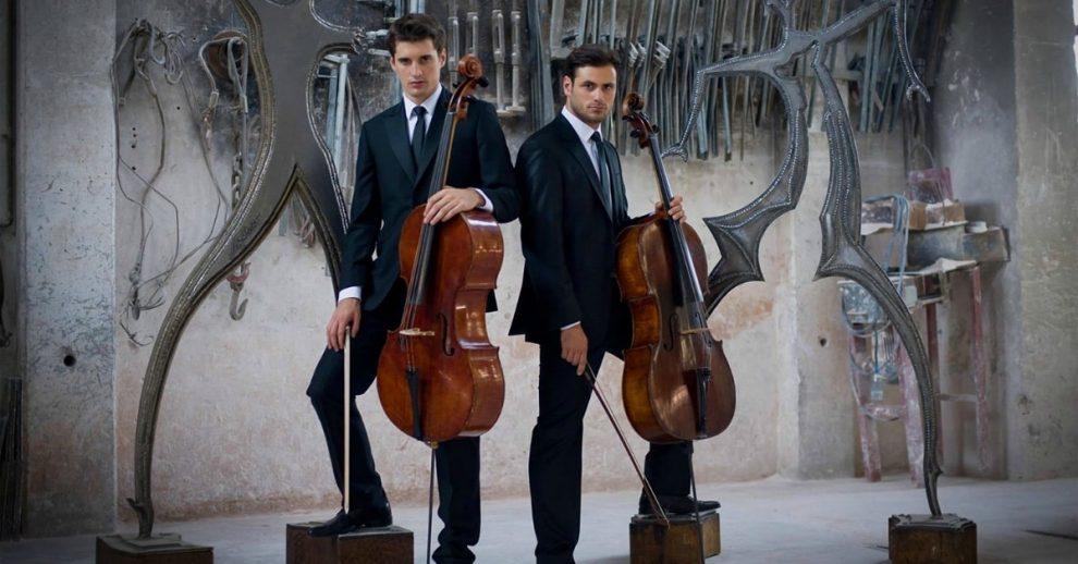 Luka Šulić and Stjepan Hauser from Zagreb, Croatia-based 2Cellos