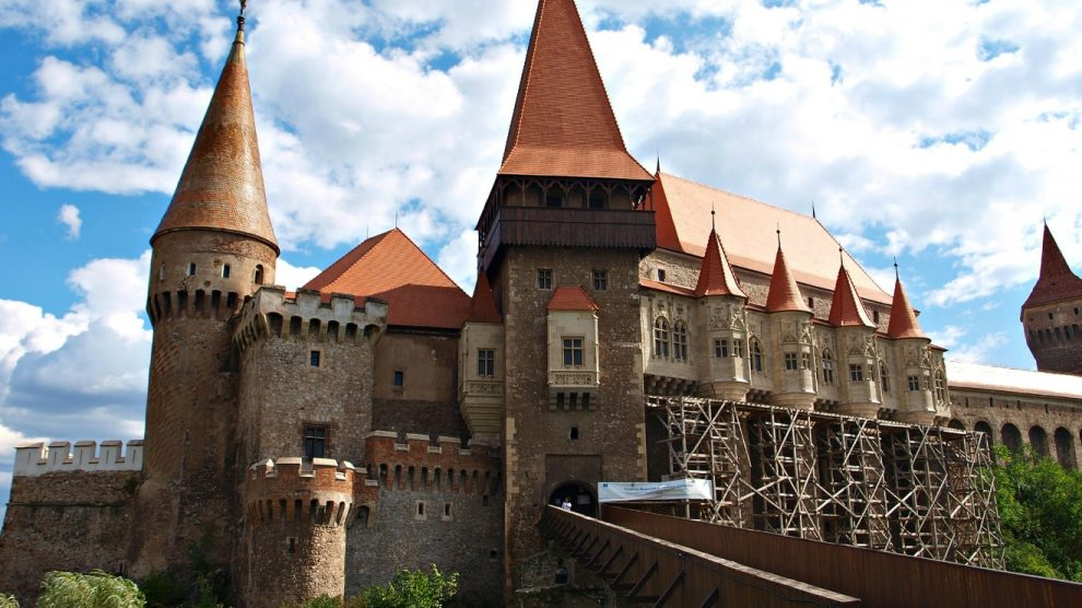 Corvin Castle of Hunedoara, Transylvania, Romania