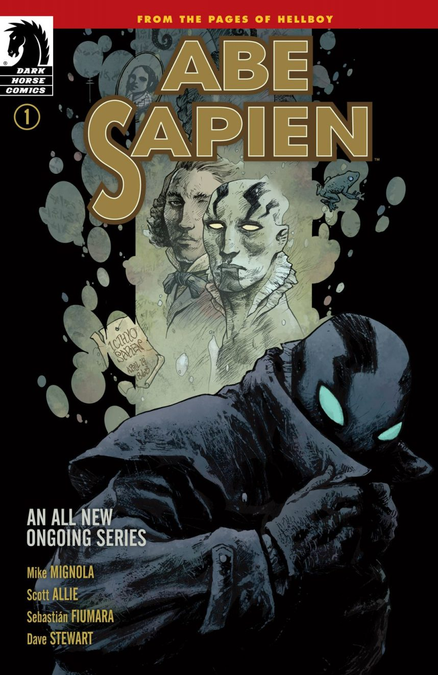 abe sapien dark and terrible part 1 cover