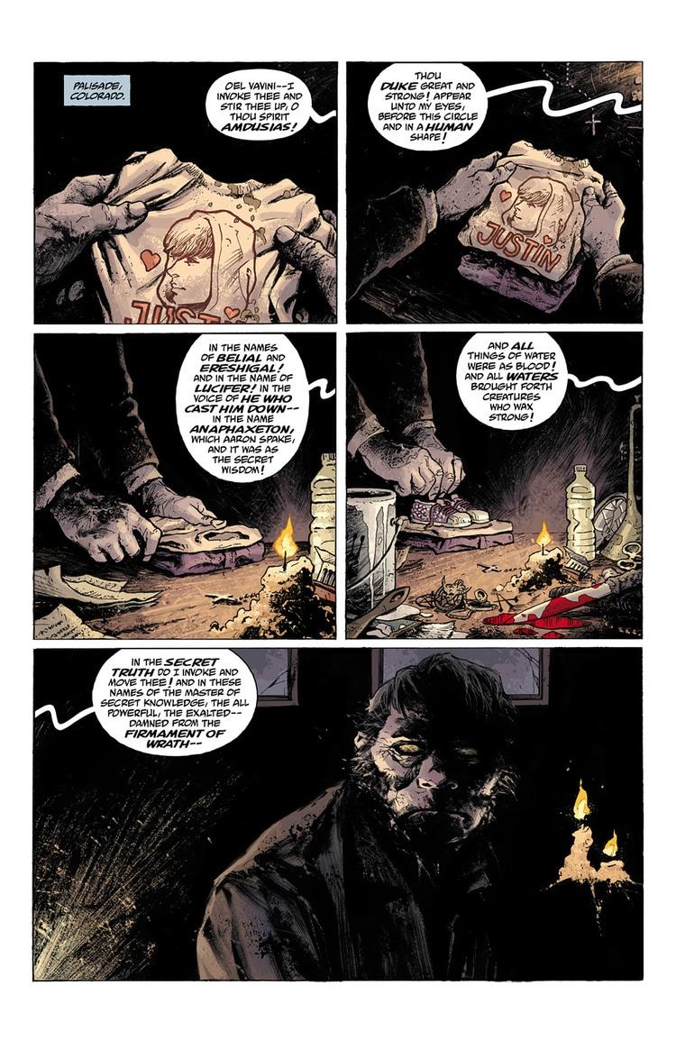 abe sapien dark and terrible part 1 page 1