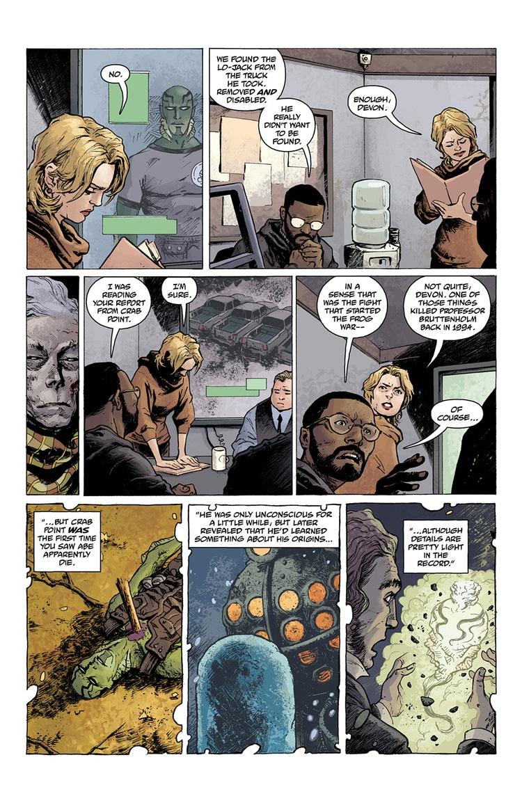 abe sapien dark and terrible part 1 page 6