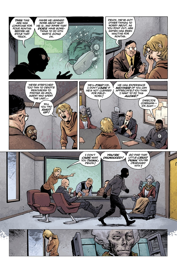 abe sapien dark and terrible part 1 page 7