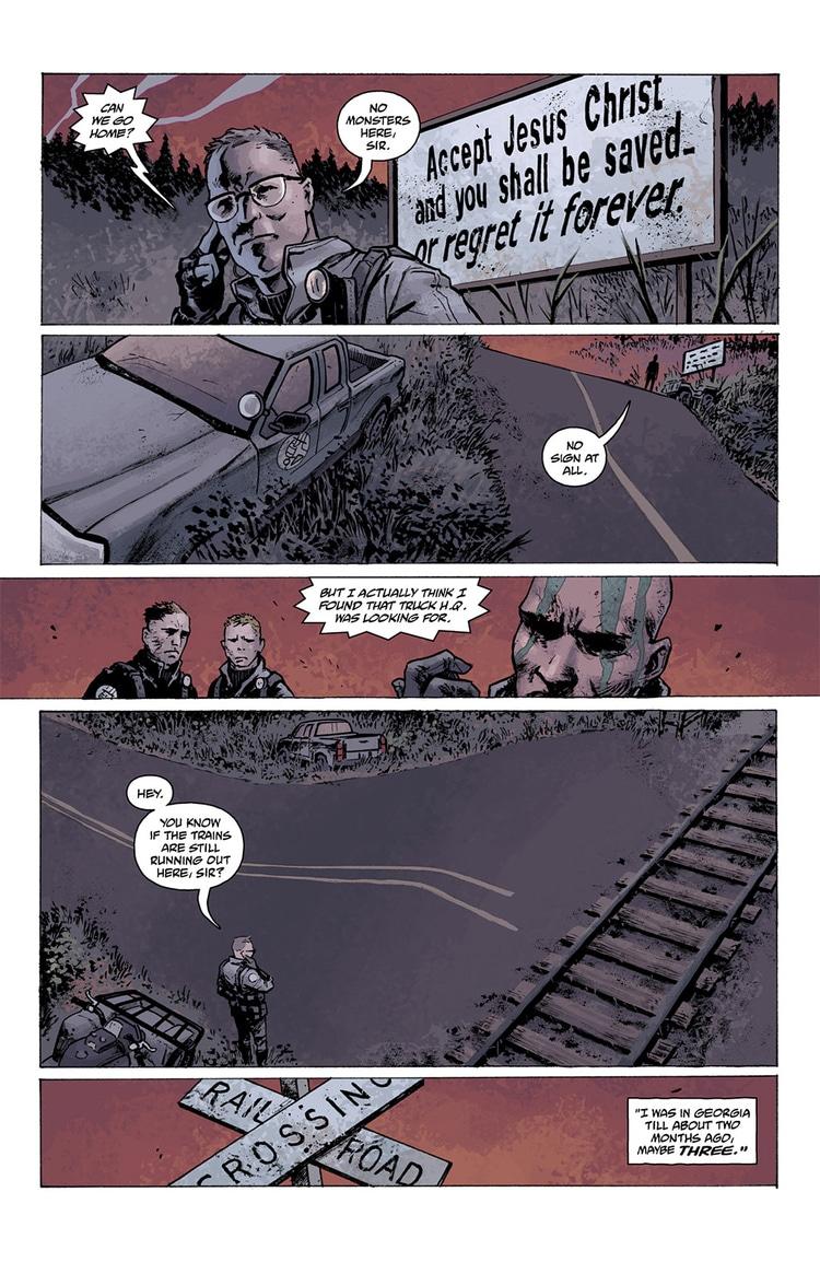 abe sapien dark and terrible part 1 page 9