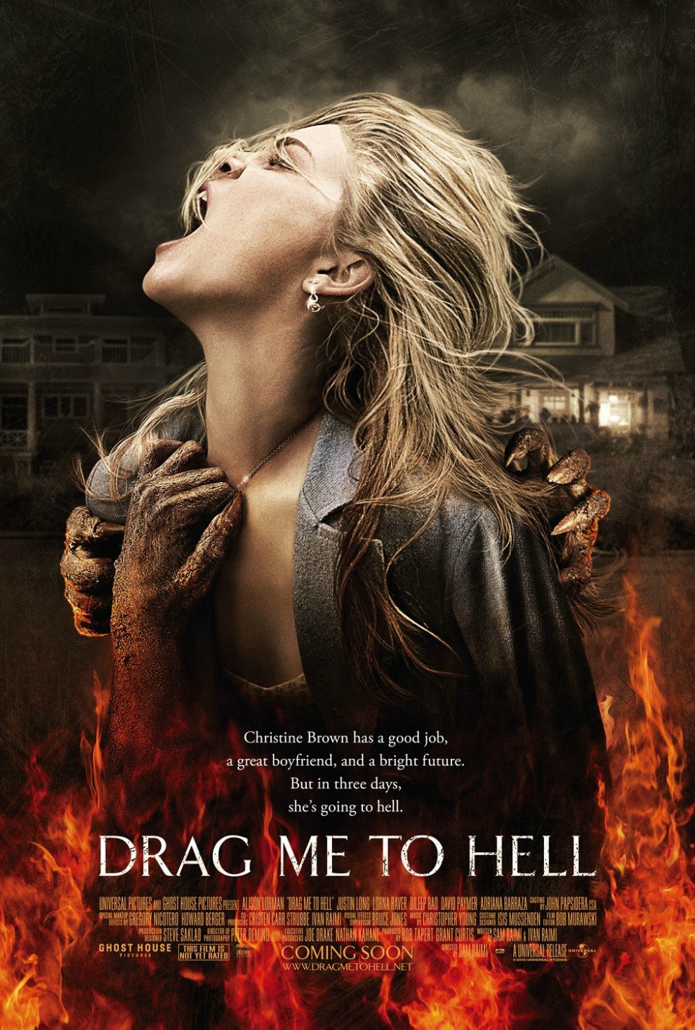 official drag me to hell poster