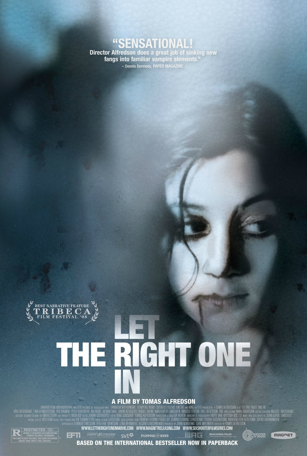 official let the right one in poster