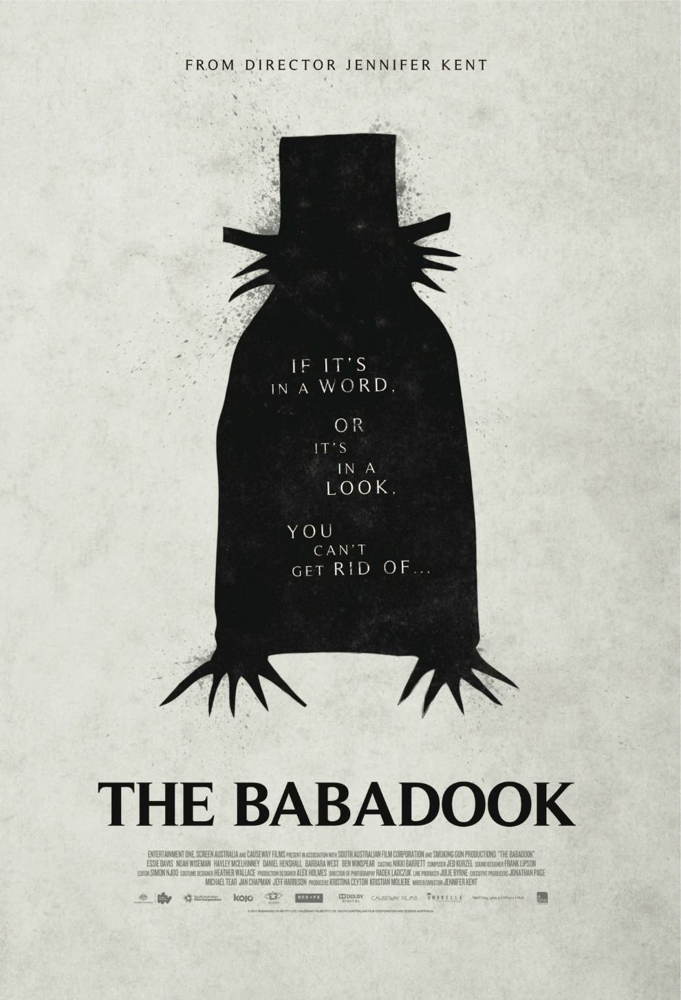 official the babadook poster