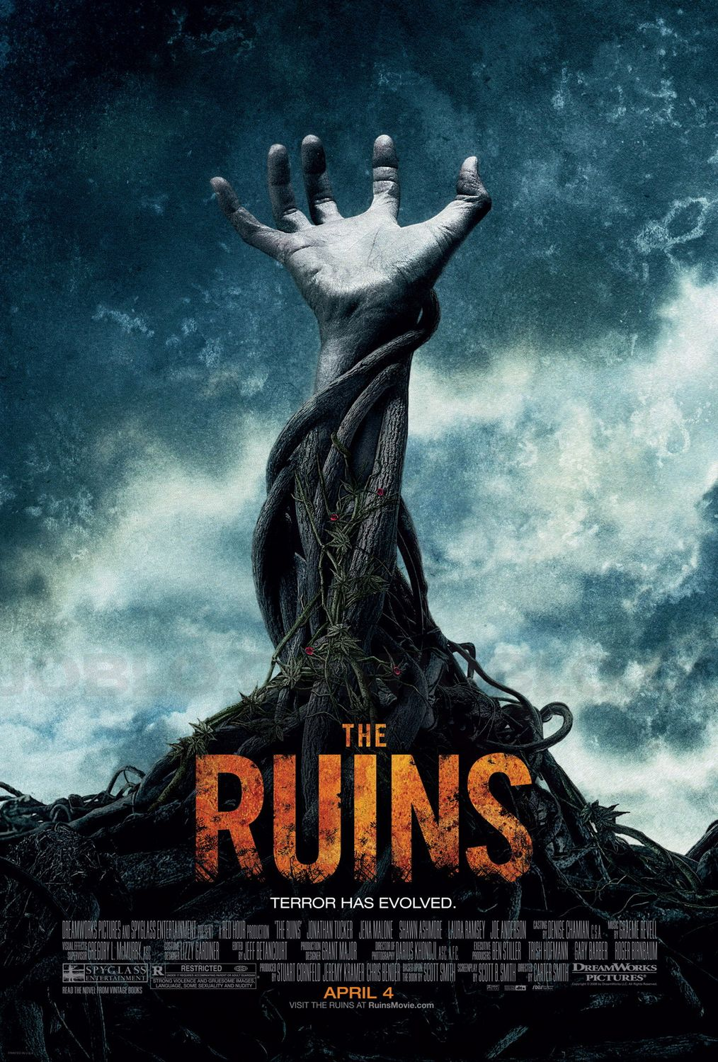 official the ruins poster