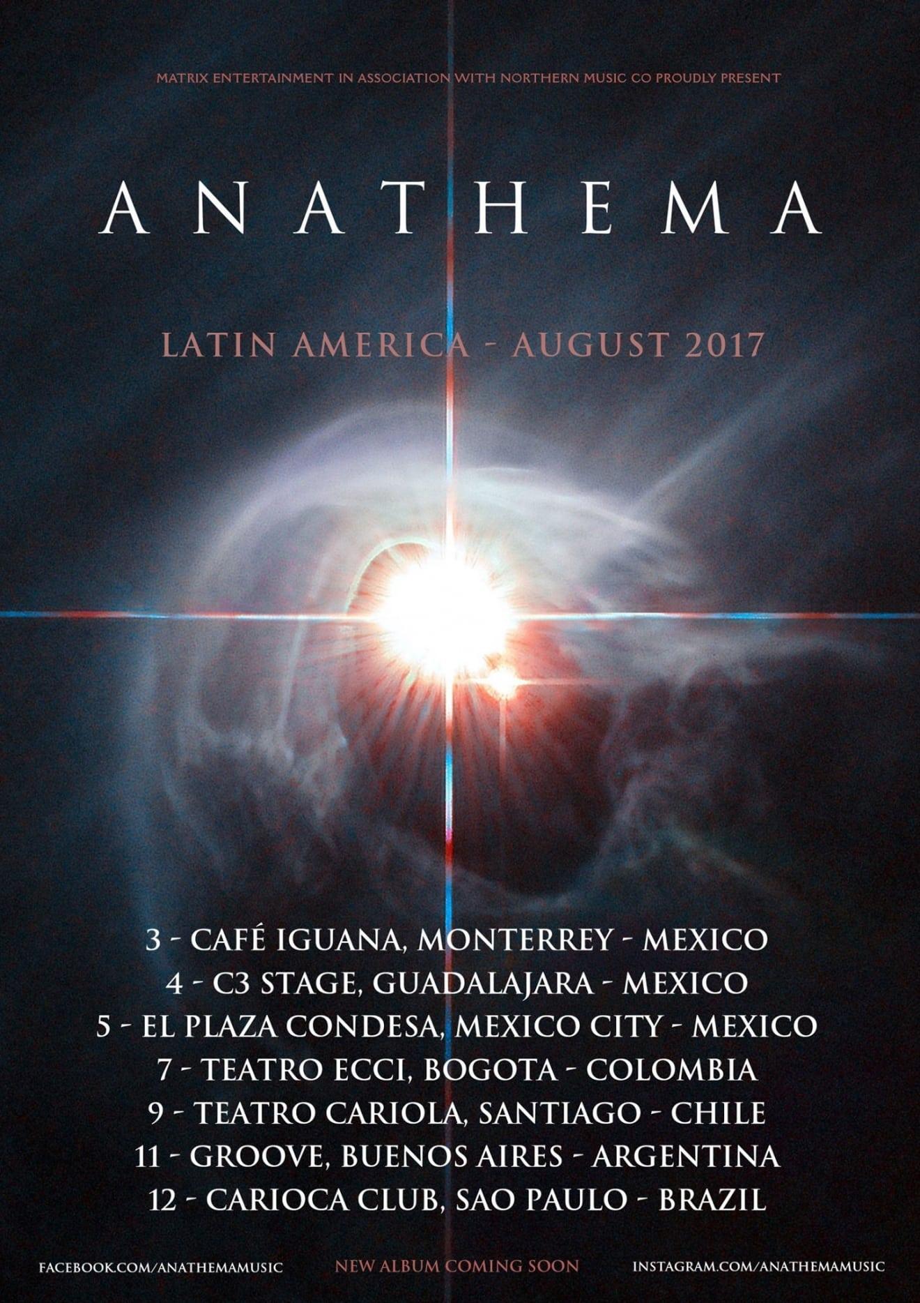 Anathema - Latin America Tour