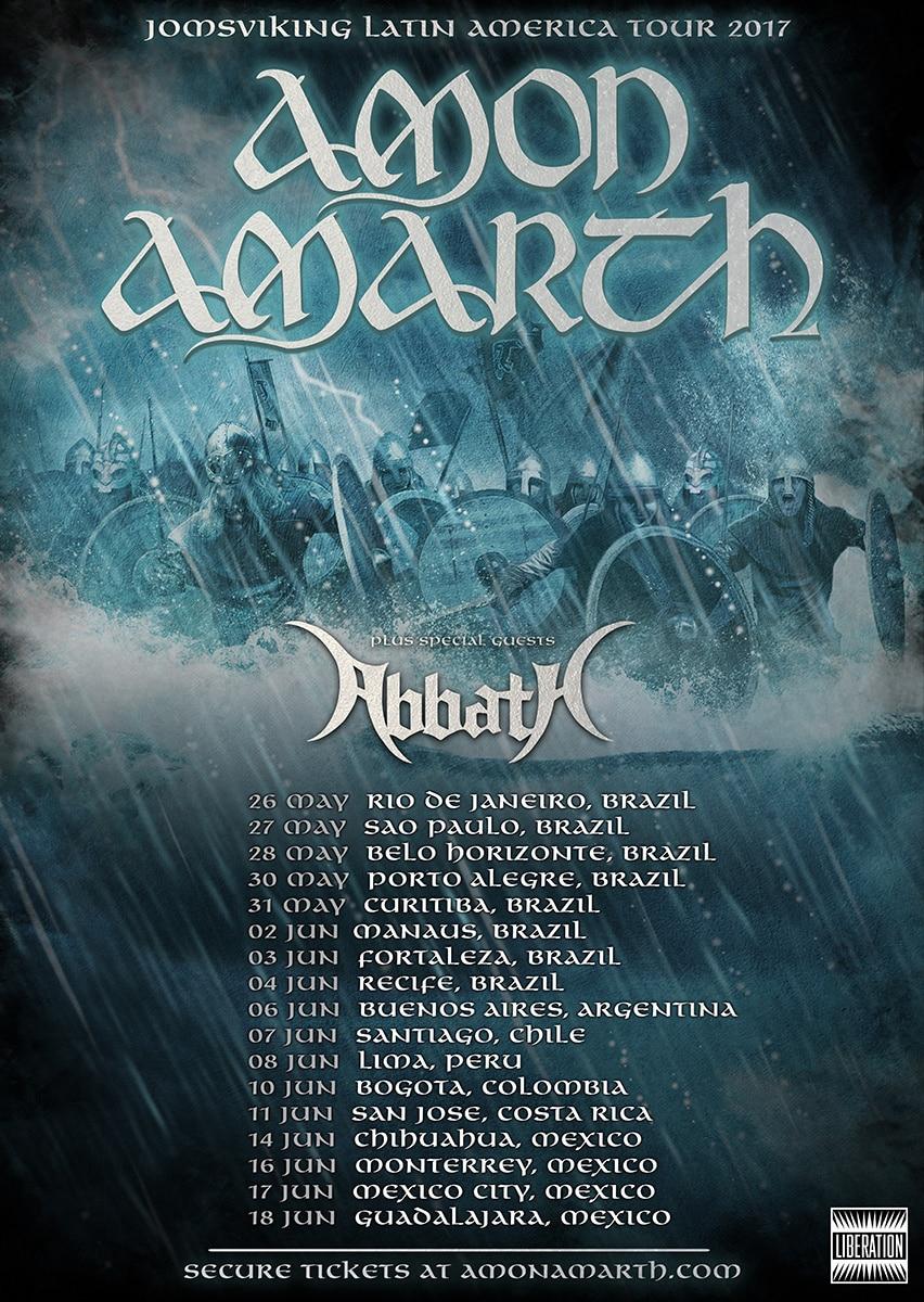 Jomsviking Latin America Tour 2017
