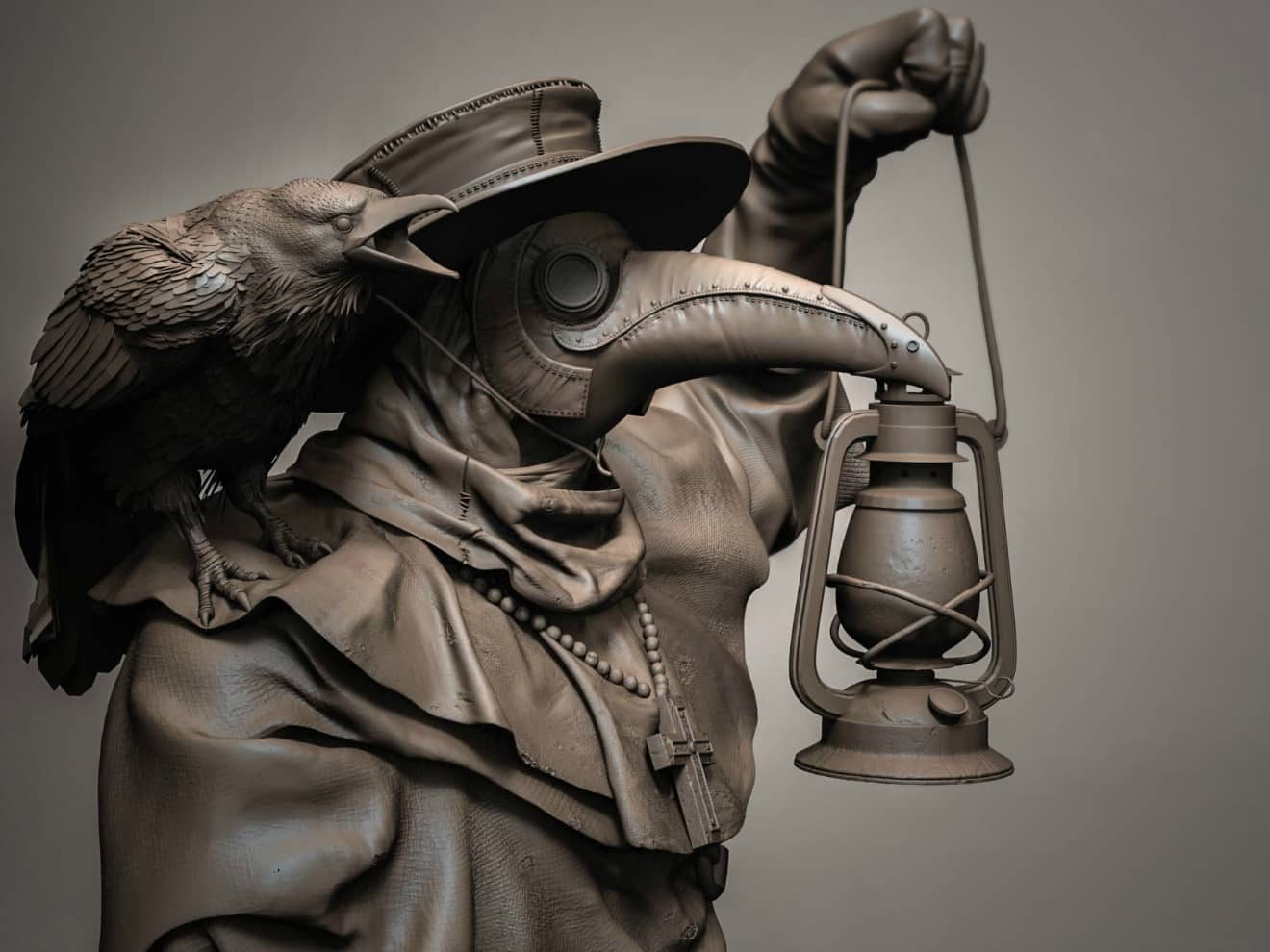 The Bygone Times Of The Frightening Plague Doctors