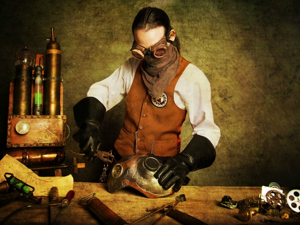 Steampunk Reversal Of The Negative Victorian Horror Science