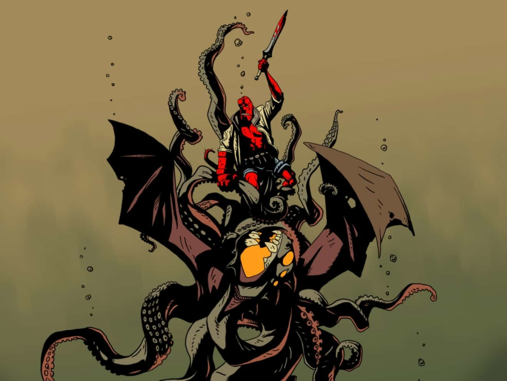 The Phenomenal Lovecraftian Prestige in Hellboy's Abstraction