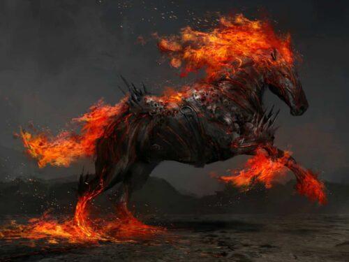 The Four Horsemen Of The Apocalypse Cosmology