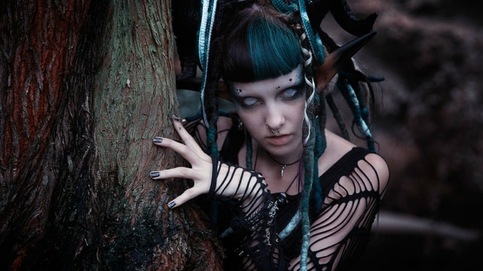 The Dullahan And Banshee In Irish Celtic Fairy Tales