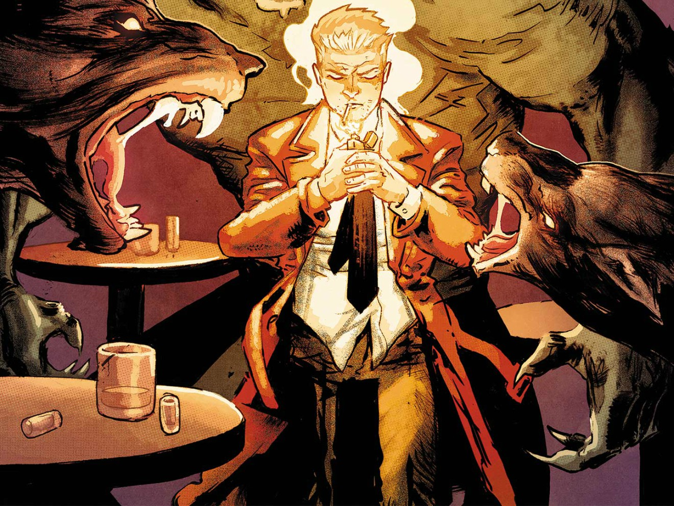Vertigo Digital Aesthetic Redefinition of Comic Books