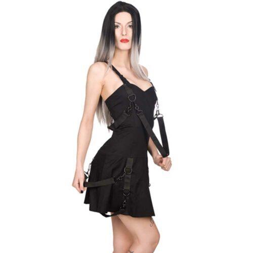 Aderlass Belt Mini Denim Dress