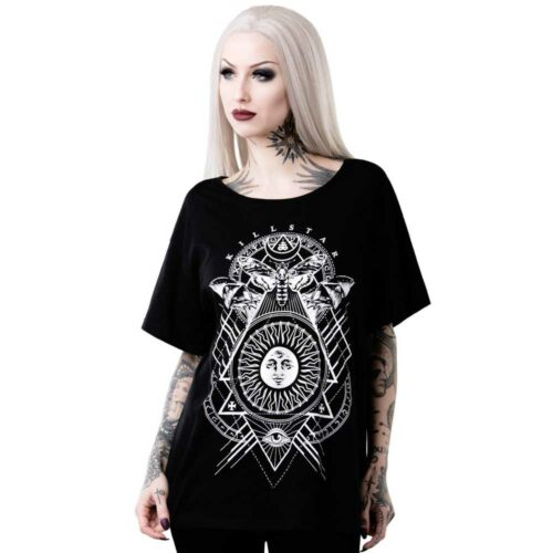 Black Sun Relaxed Top