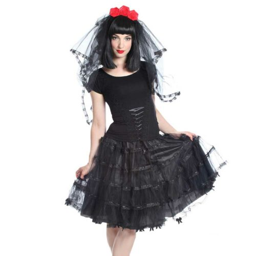Julienne Long Petticoat Skirt