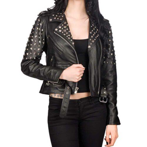 Rockstar Ladies Biker Jacket