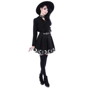 Symbol High Waist Short Skirt