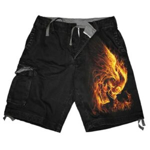 Burn In Hell Cargo Shorts