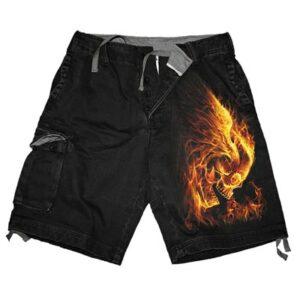 Burn In Hell Cargo Shorts