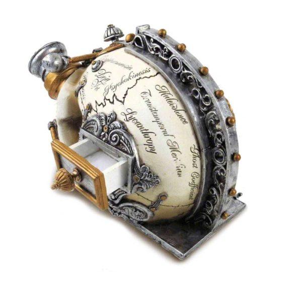 Erasmus Darwin's Steam Figurine