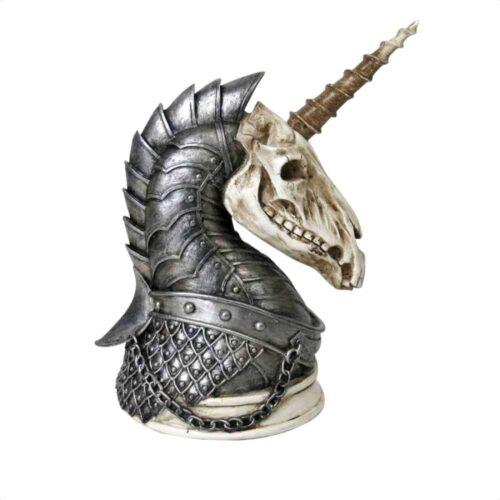 Geistalon Unicorn Skull Figurine