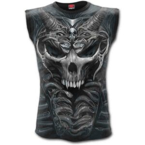 Skull Armours Sleeveless Tee Shirt