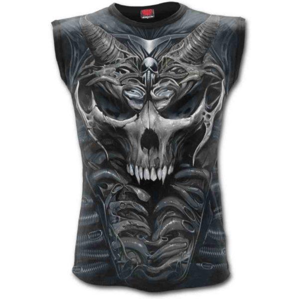 Skull Armours Sleeveless Tee Shirt