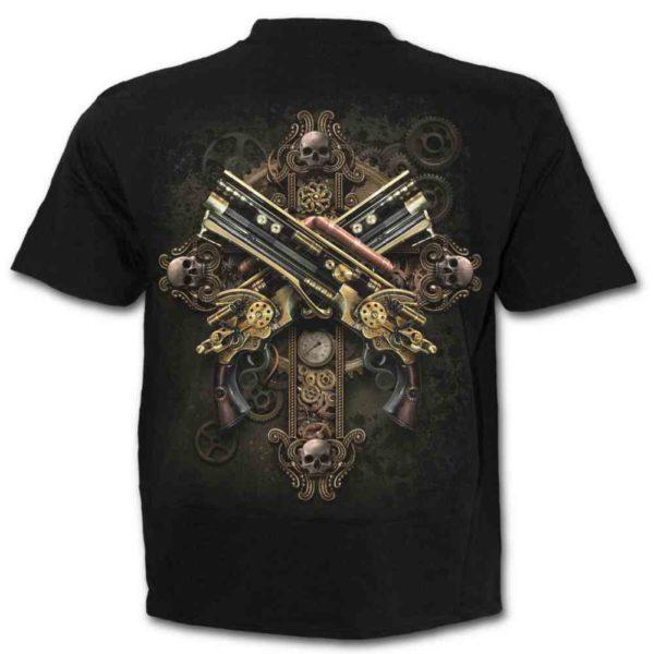 Steampunk Skeleton Short Sleeve