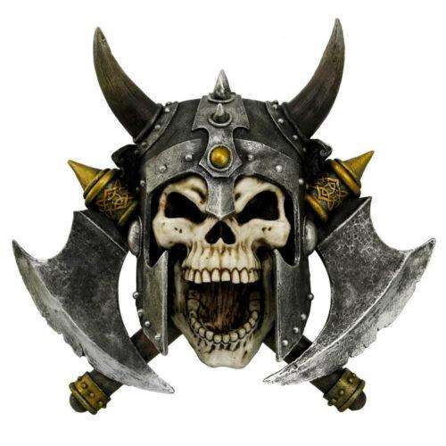 Valhalla's Vengance Skull Figurine