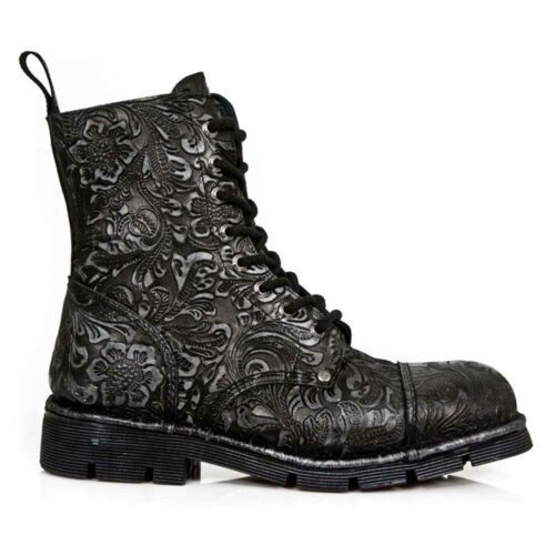 Vintage Gothic Metal Boots